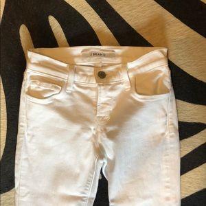 JBRAND White Skinny Jeans
